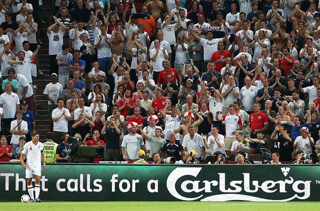 England v Ukraine - Group D: UEFA EURO 2012