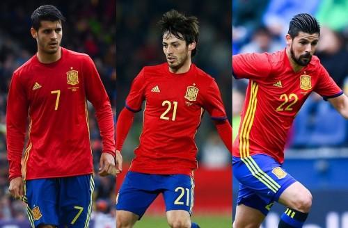 """バルサの3人だけじゃない…ユーロに臨むスペイン代表にも""""MSN""""がいた"""