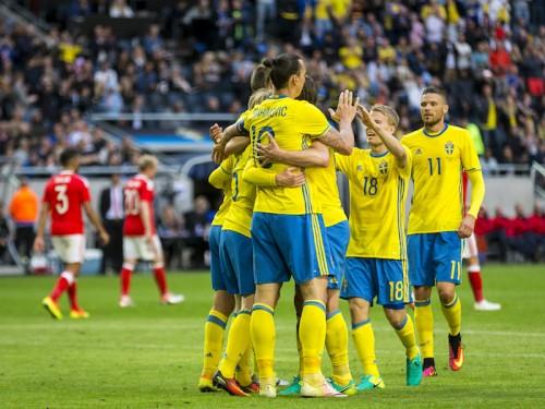 スウェーデン、ウェールズに3発快勝…ベルギーとトルコは辛勝/国際親善試合