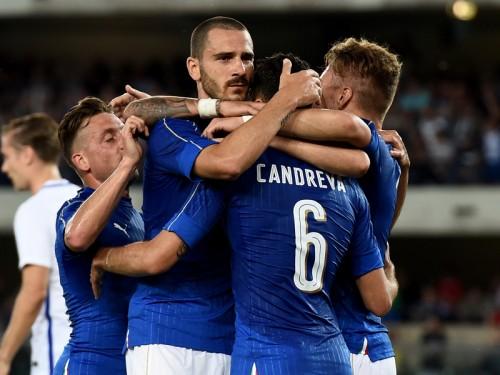 カンドレーヴァが2得点に絡む活躍…イタリアが快勝、ユーロへ弾み