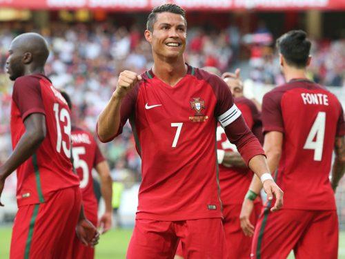 ポルトガルが7発圧勝、ユーロに弾み…C・ロナとクアレスマが各2得点
