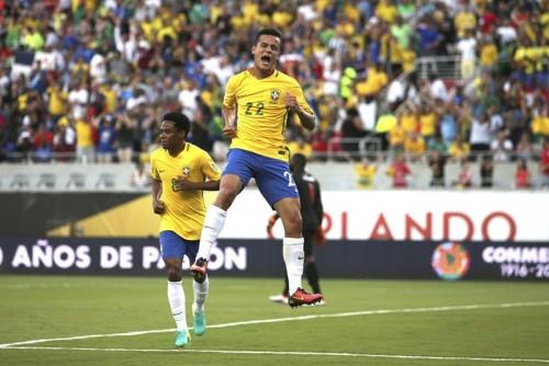 復活のブラジルが7発大勝で今大会初勝利…コウチーニョがハットの大活躍