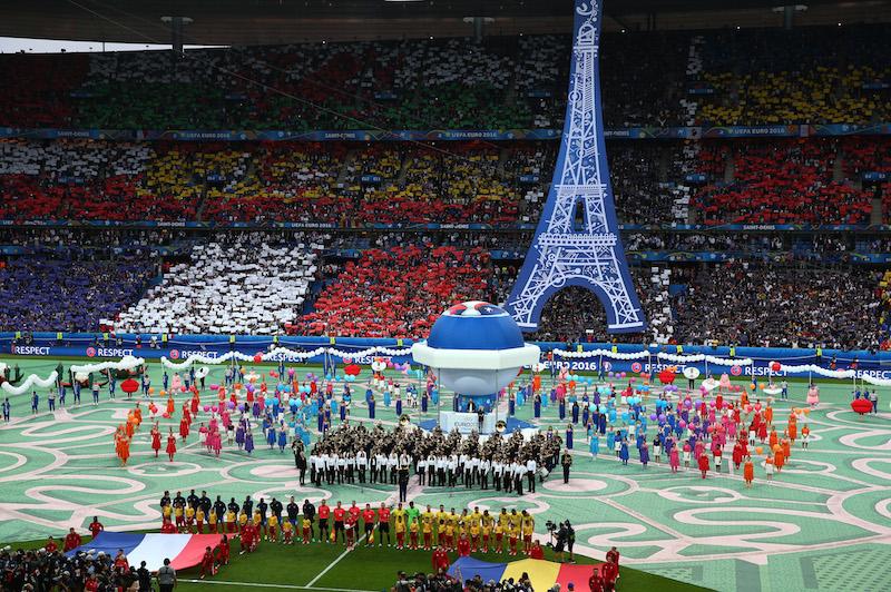 ユーロ2016がついに開幕。決勝の7月10日まで熱い戦いが続く [写真]=Getty Images