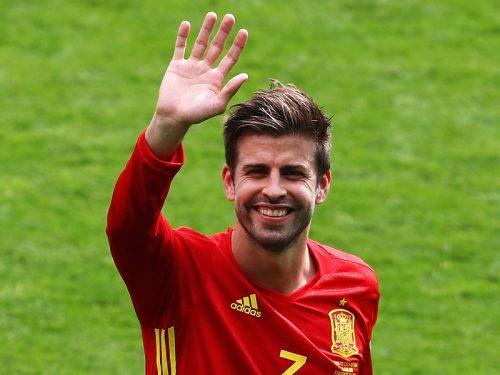スペインを勝利に導く決勝弾…歓喜のピケ「誰にとっても素晴らしい日!」