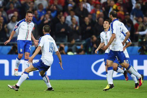 イタリア、優勝候補ベルギー撃破で白星発進…豪華攻撃陣を抑えて完封勝利