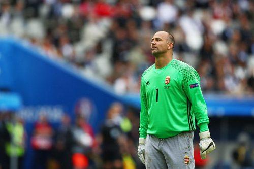ハンガリーGKキラーイ、ユーロ最年長出場記録を更新…初の40代プレーヤーに