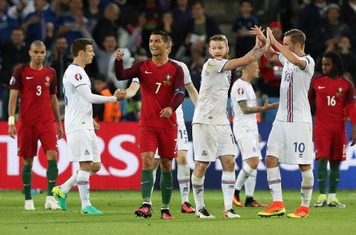 ポルトガル、痛恨のドロー発進…初出場のアイスランドがボレー弾で追いつく
