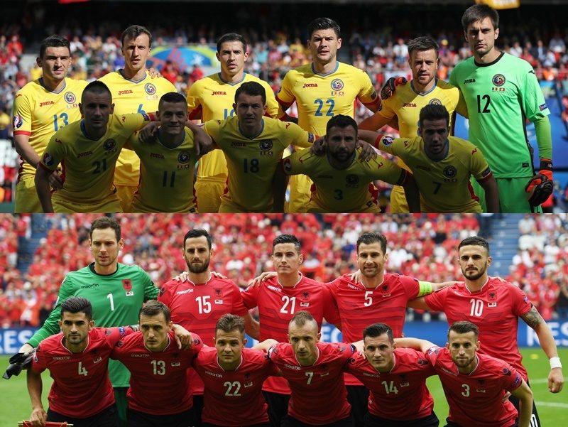 ルーマニア代表 アルバニア代表