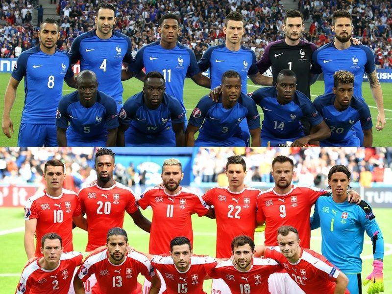フランス代表 スイス代表