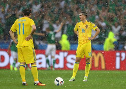 ウクライナのユーロ敗退が決定…ドイツとポーランドの引き分けで4位確定
