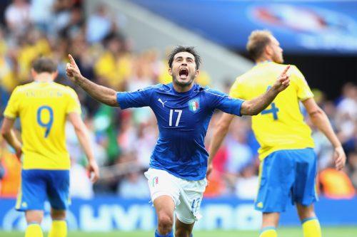 イタリアが2戦連続完封勝利で決勝T進出…土壇場のエデル弾でスウェーデン下す