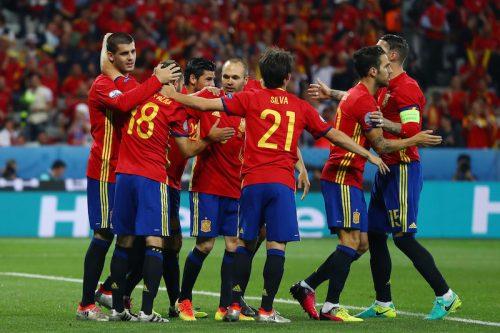 スペイン、モラタ2発などでトルコに完勝…2連勝でグループ突破決定