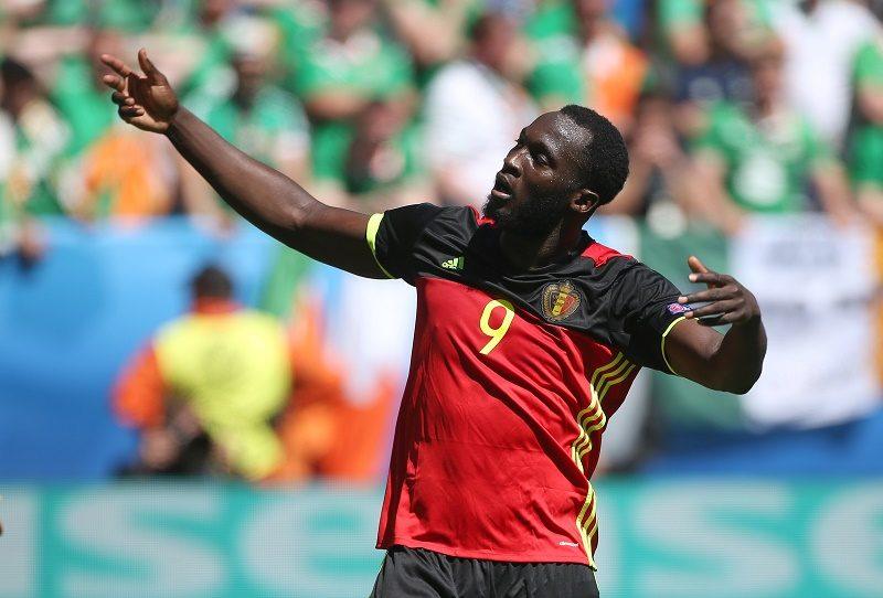 アイルランド戦で2ゴールを挙げたベルギー代表FWルカク [写真]\u003dGetty Images