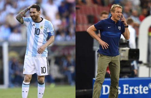 メッシ擁するアルゼンチンを恐れないクリンスマン監督「どんなことも起こる」
