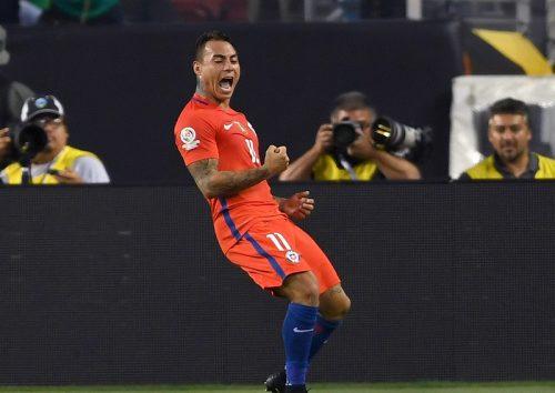 メキシコ戦で4ゴールのチリ代表FWバルガス「完全に自信を取り戻した」