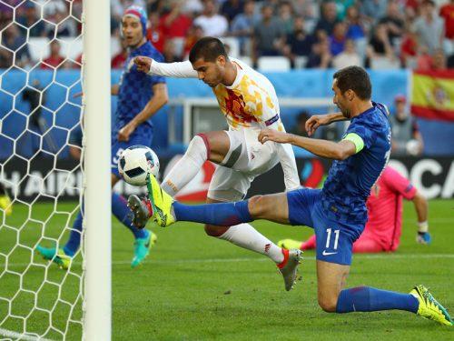 決勝T初戦でイタリアと激突…スペインFWモラタ「最強の相手の1つ」