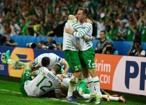アイルランドが22年ぶりにイタリアから金星…劇的勝利で初のGS突破