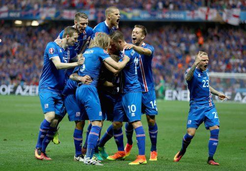 ベスト8最後の枠で大波乱…初出場アイスランドがイングランドに逆転勝利の快進撃