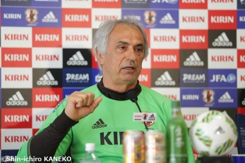 「本田と香川は難しい」…代役に期待するハリル「ほかの選手にはチャンス」