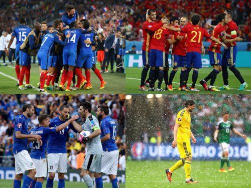 フランス、スペイン、イタリアの突破決定…ウクライナは敗退/ユーロ2016GS第2節