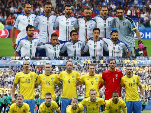 連勝狙うイタリア、フロレンツィがスタメン…イブラ先発のスウェーデンと激突