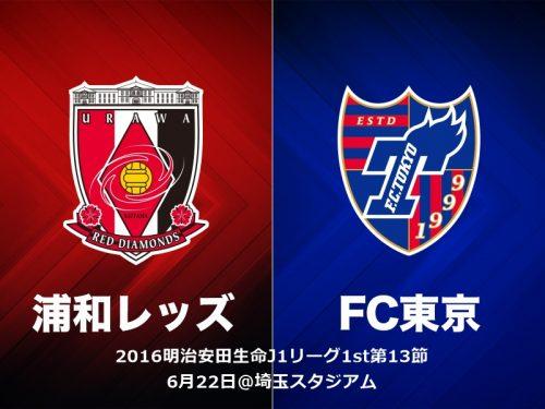 13分で3発の浦和、2点差逆転で6試合ぶり勝利…FC東京を撃破