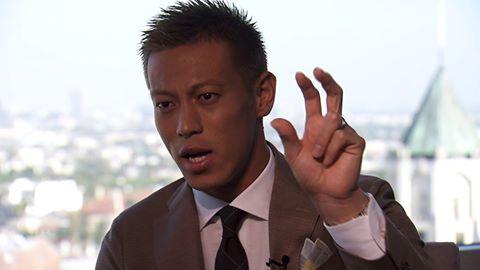 本田圭佑が7月4日放送『NEWS ZERO』に生出演