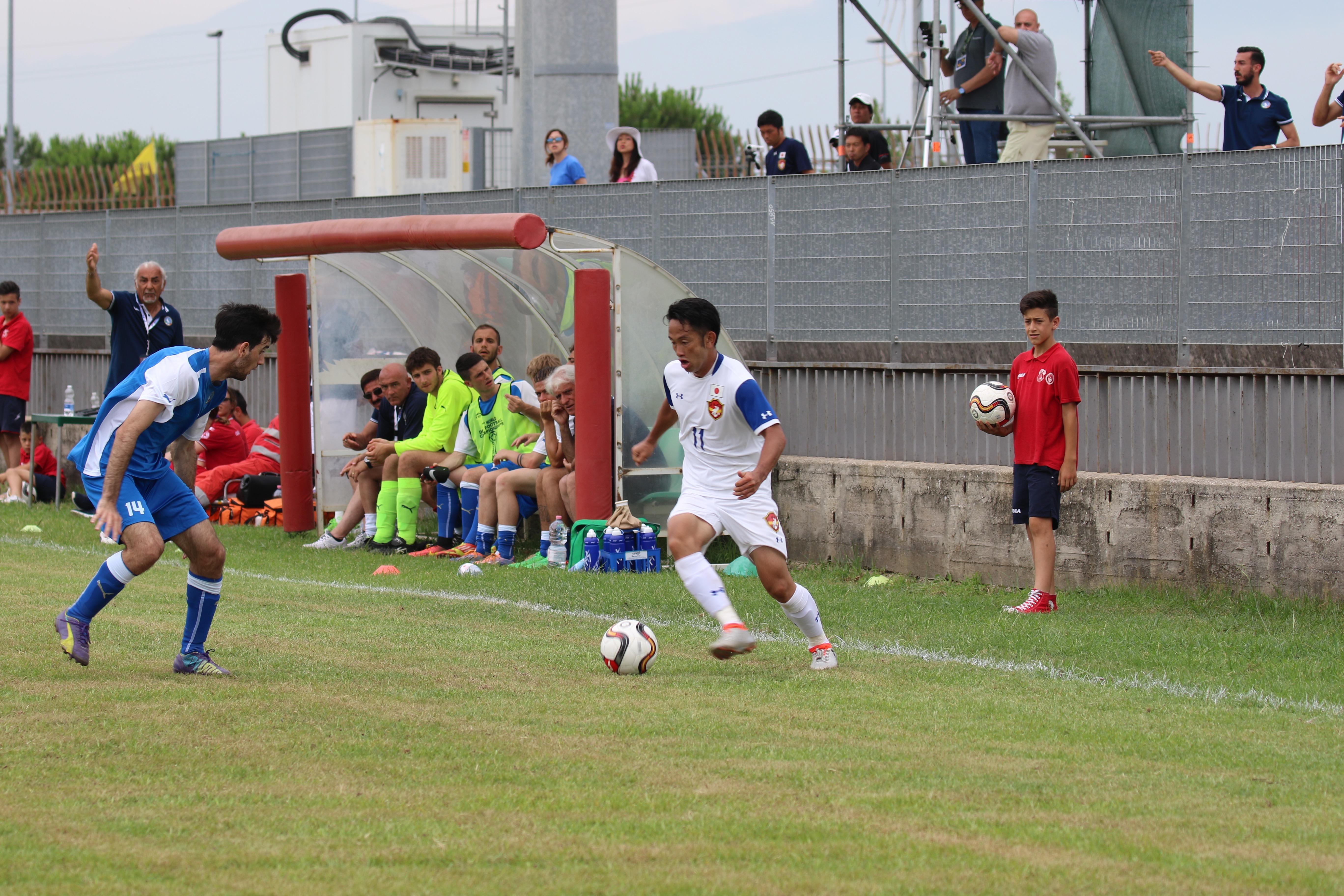 初戦の退場が悔やまれるが、3試合6得点をマークした古島選手。今後の活躍に期待が持たれる