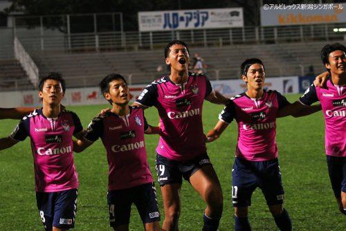 アルビレックス新潟Sがリーグカップ決勝へ…連覇を懸けて30日ブルネイと対戦
