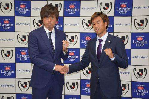 ルヴァン杯準々決勝で激突…広島MF柏、遠藤の隣で緊張も「試合ではガツンと行きたい」