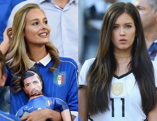 """ドイツ対イタリア、壮絶な死闘の裏である選手の恋人の""""美しさ""""が話題に!"""