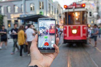 ISTANBUL, TURKEY - JULY 14 : A Pokemon Go user plays Pokemon GO game in Istanbul, Turkey on July 14, 2016. (Photo by Muhammed Enes Yildirim/Anadolu Agency/Getty Images)