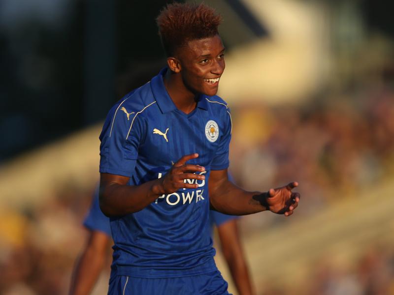 同点ゴールを決めたグレイ [写真]=Leicester City FC via Getty Images