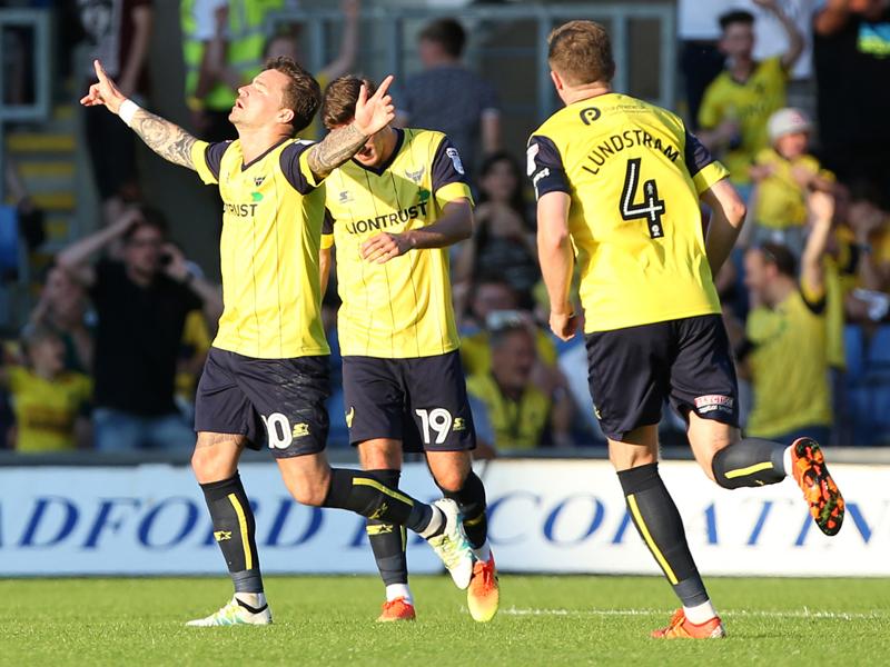 オックスフォード・ユナイテッドが先制点を挙げた [写真]=Leicester City FC via Getty Images