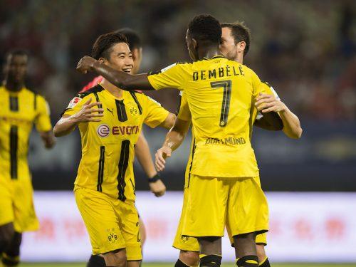 マンUとの一戦を終えて…香川がブログを更新「試合はやっぱり良い」
