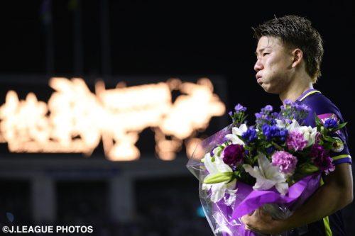 悔しさと涙の最終戦…アーセナル移籍の浅野「広島での誇りを持って挑戦したい」