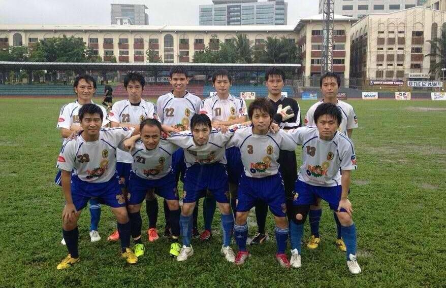 日本人駐在員で構成されていた「Manila All Japan FC」