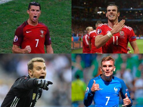 ユーロ2016ベスト4決定…フランスとドイツが激突、C・ロナとベイルの対決も