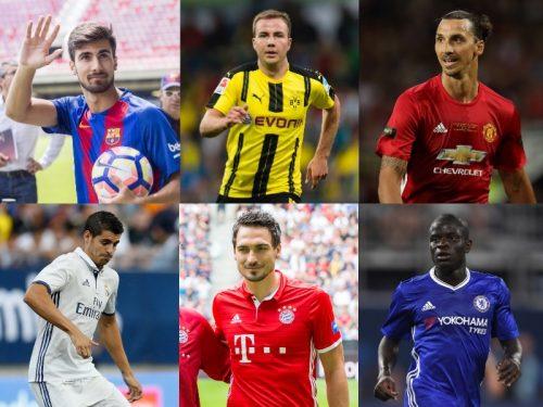 ●新シーズンを占う夏の移籍市場…欧州5大リーグ・強豪16クラブの補強一覧