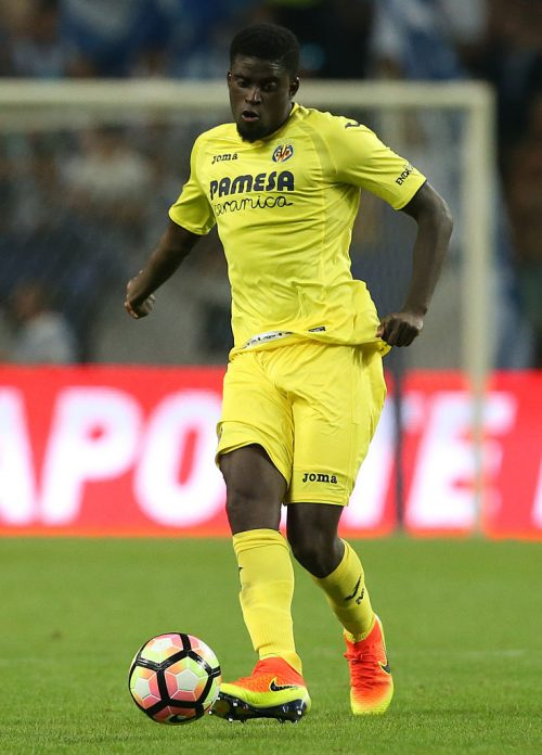 PORTO, PORTUGAL - AUGUST 6: Villarreal's midfielder Alfred N«Diaye in action during the Pre-Season Friendly match between FC Porto and Villarreal FC at Estadio do Dragao on August 6, 2016 in Porto, Portugal.  (Photo by Gualter Fatia/Getty Images)