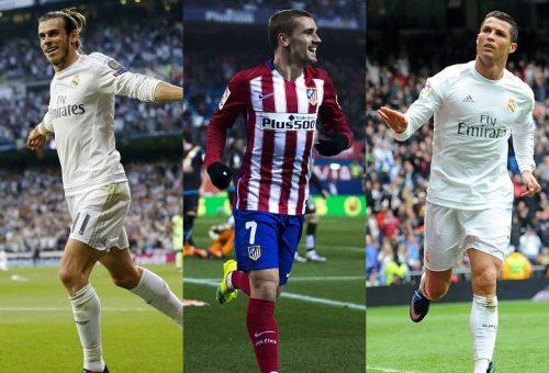 欧州最優秀選手賞の最終候補が決定…ベイル、C・ロナ、グリエスマンの3名