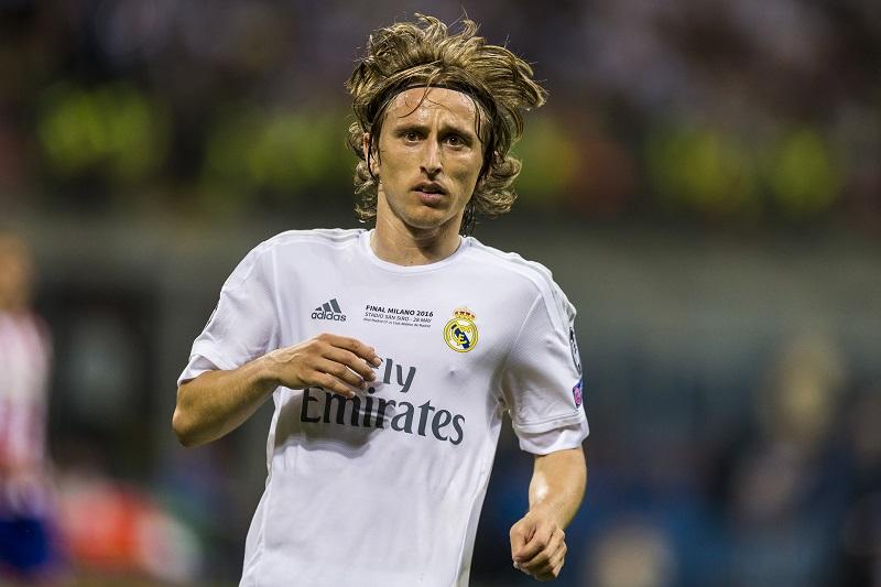 モドリッチは2012年夏にレアル・マドリードへ加入した [写真]=Getty Images