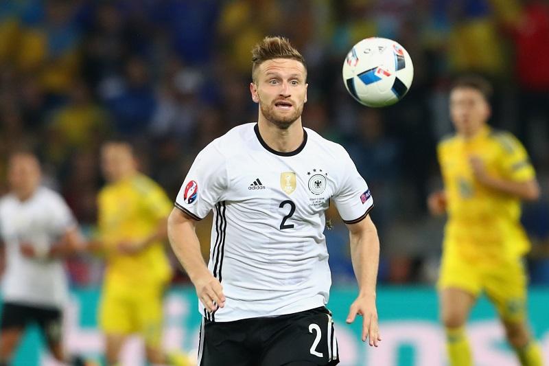 アーセナルが関心を寄せるムスタフィはドイツ代表としてユーロ2016に出場した [写真]=Getty Images