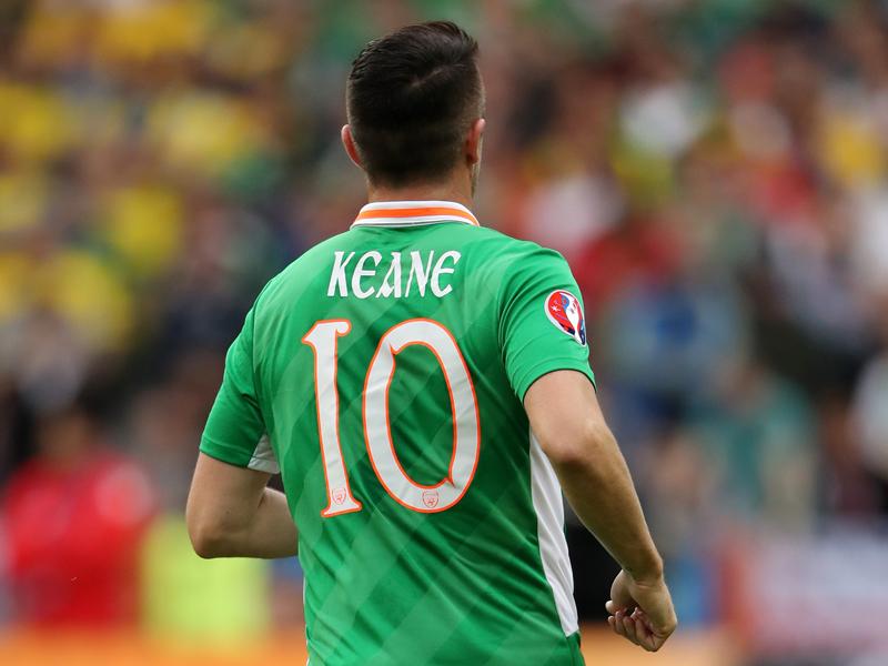 """アイルランドの""""10番""""ロビー・キーン [写真]=AMA/Getty Images"""