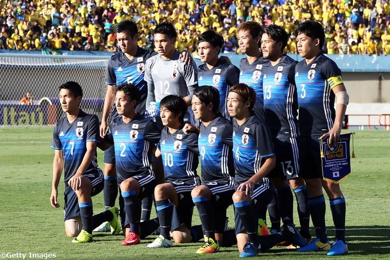 リオ五輪に臨む日本代表 [写真]=Getty Images
