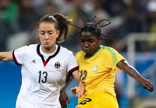 リオ五輪サッカー開幕! 「とんでもない髪形」の女子選手がいた