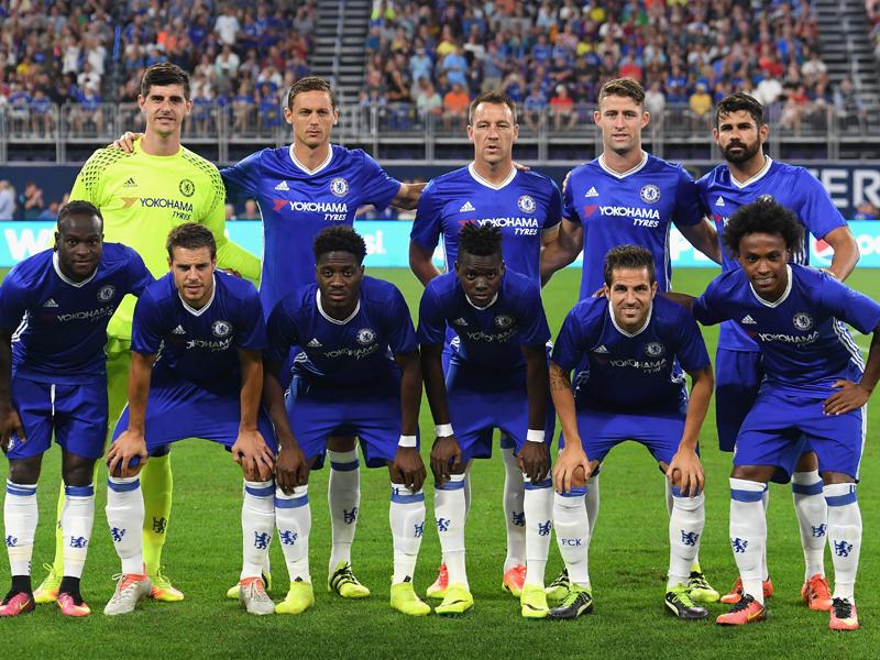 チェルシーの先発メンバー [写真]=Chelsea FC via Getty Images