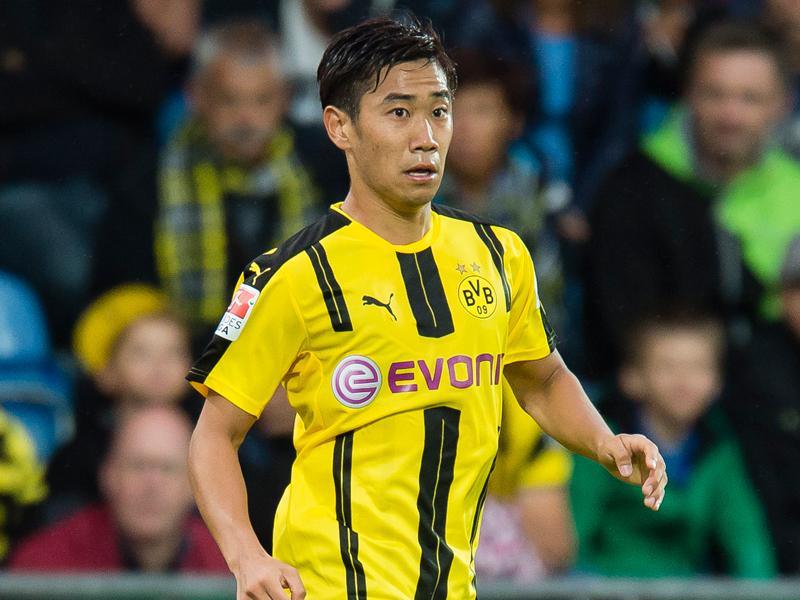先発メンバーに名を連ねた香川 [写真]=Borussia Dortmund/Getty Images