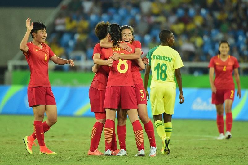 中国は今大会初勝利を挙げ、グループ2位に浮上している [写真]=Getty Images