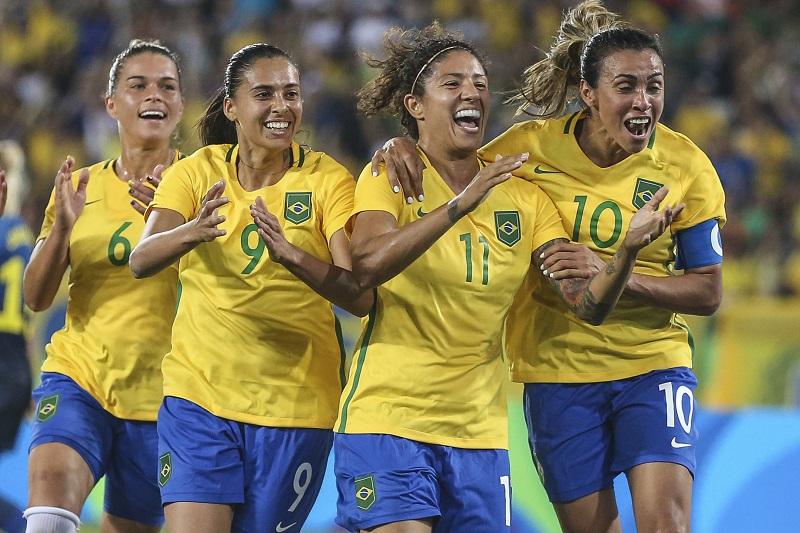 ブラジルは5得点を挙げてスウェーデンに大勝した[写真]=Brazil Photo Press/LatinContent/Getty Images